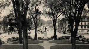 Central Square in the 1940s
