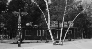 Earliest known photo of Friendship Lodge