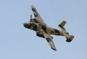 B-25C Mitchell in flight