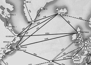 North Atlantic Transport Route