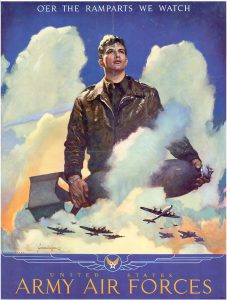 Army Air Forces Training Command poster, mid-1940s