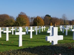Cambridge American Cemetery, the final resting place of nearly 4,000 Americans