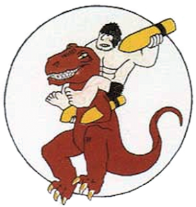 """Alley Oop"" insignia of the 327th Bomber Squadron"