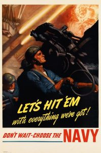 1941 US Navy Recruitment Poster
