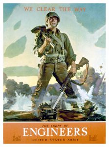 United States Army Engineers Recruitment Poster, 1942
