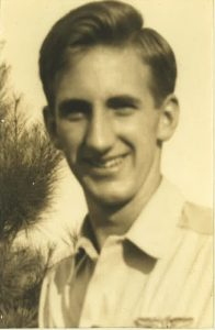 Allen, during his time in flight school