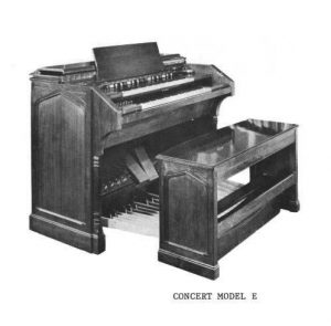"1947 Hammond Concert Model E electric ""Tonewheel"" organ"