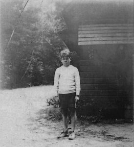 Beany at Camp Takodah, 1931