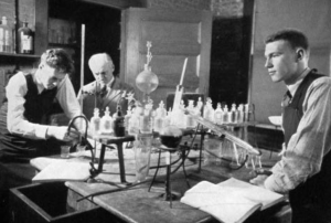 Chemistry Lab at Cushing Academy in 1935