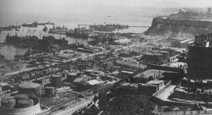 Port of Oran in 1943