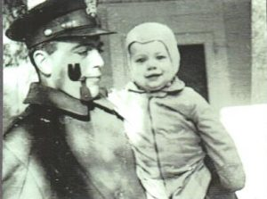 Spike and Robbie in January 1943