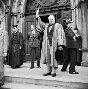 Churchill at Harvard: September 6, 1943