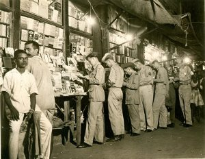 American GIs in Calcutta, 1940s