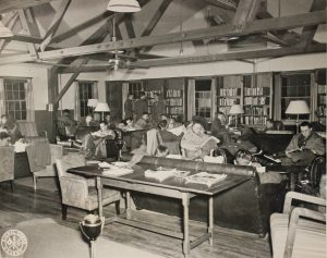 Camp Myles Standish Reading Lounge