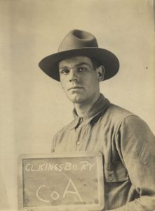 Chester Lyman Kingsbury, Sr. in World War 1